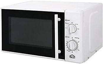 DCG Eltronic MWG820 - Microondas (Microondas con grill, 20 L, 700 W, Giratorio, Blanco, Retirable)