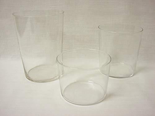 Dkristal Conjunto Lote 6 Vasos Cristal Transparente Sella Sidra 500ML + 6...