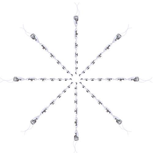 HENGBIRD Espiral reflectante para ahuyentar pájaros en el jardín (8 unidades)