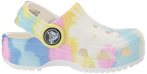 Crocs Unisex-Child Kids' Classic Tie Dye Clog | Slip on Shoes for Boys and Girls