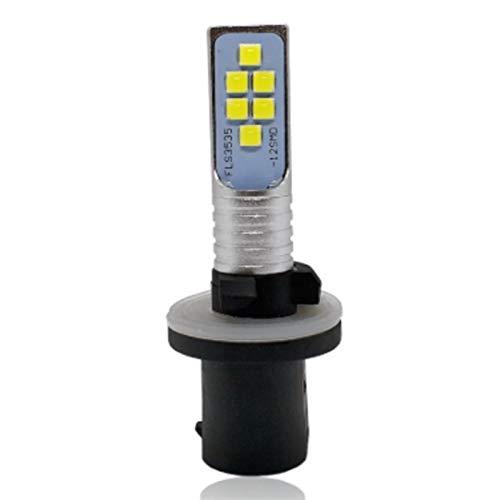 GCS Gcsheng 880 889 H27W LED Bombilla Fog Fog LUZ LÁMPARA 12SMD 3535 H27 H27W / 1 Auto DRL Día Luces de ejecución 6000K White 12V (Emitting Color : White, Socket Type : H27/880)