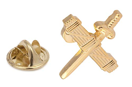 Gemelolandia | PIN de Traje Emblema de la Guardia Civil Haz de Lictores y Espada | Pines Originales Para Regalar | Para las Camisas, la Ropa o para tu Mochila | Detalles Divertidos
