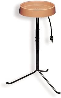 API 400 12-Inch Diameter Heated Bird Bath with Stand