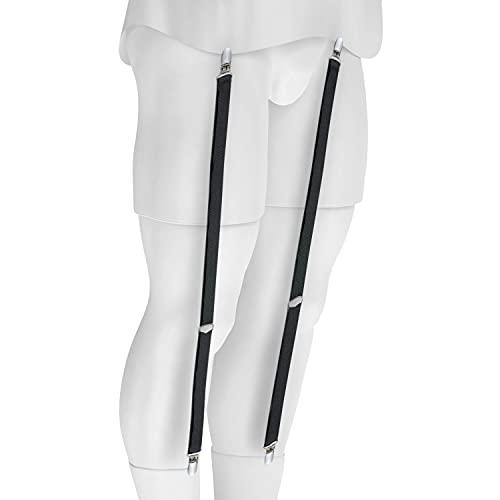 Shirt Stay for men Police Military garter Holder Sock Suspender - Straight