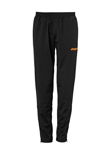 uhlsport Score Classic Pantalon Homme, Noir/Fluo Orange, FR : M (Taille Fabricant : M)