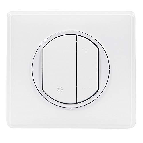:  Legrand - Interrupteur variateur toutes lampes - Celiane – jusqu'à 400W Blanc– ref 99568