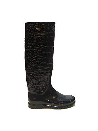 Dolce & Gabbana Black Rain Boots 6