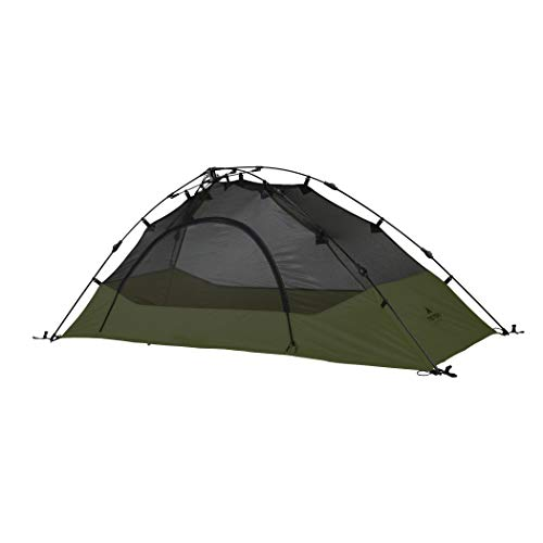 TETON Sports Vista 1 Quick Tent; 1 Person Dome Camping Tent; Easy Instant Setup, Green, Model:2001GR