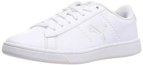 PUMA Vikky v2 Cat, Zapatillas Mujer, Blanco White-Gray Violet Black, 39 EU