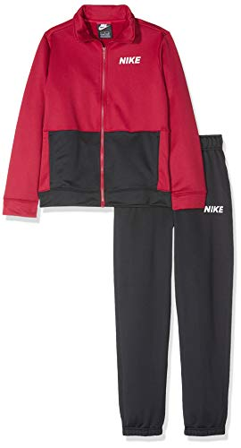 Nike B NSW TRK Poly, trainingspak, kinderen, Red Crush/Black/White, M