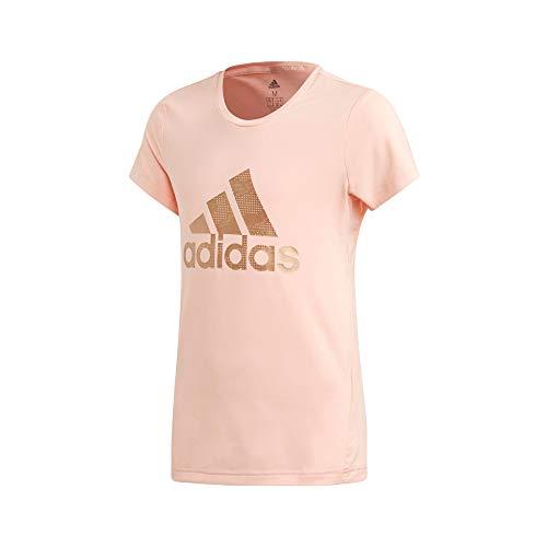 adidas Unisex-Baby ED6323_164 T-Shirt, pink