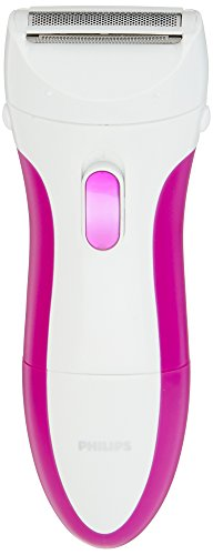 Philips SatinShave Essential Battery Lady Shaver with Bikini Attachment