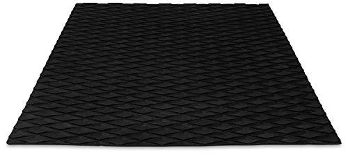 PUNT SURF Non Slip Grip Boat Floor Traction Mat - Paddle Board & Marine Step Pad - Kayak, Surfboard, Paddleboard & Skimboard Deck Padding - Versatile & Trimmable Sheet EVA Foam Grip with 3M Adhesive