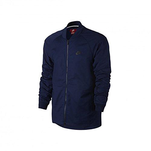 Nike Herren M NSW Varsity Jacket Woven Trainingsjacke, Binär Blau, XL