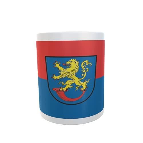 U24 Tasse Kaffeebecher Mug Cup Flagge Gifhorn