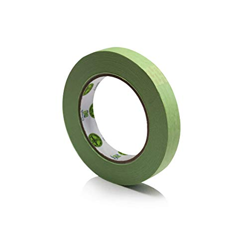 """Insta Finish Automotive Masking Tape 48 Rolls - Green Auto Masking Tape for Industrial and Commercial Use - Easy Stick and Release Automotive Paint Tape - Masking Paper Painting Tape - .75"""" Tape Photo #6"""