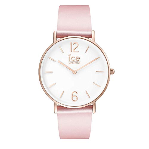 Ice-Watch - CITY tanner Pink Rose-Gold - Women's wristwatch with leather strap - 001512 (Small)