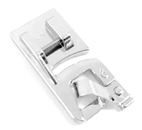 Rollsaumfuß Nähfuß 6mm für AEG Nähmaschinen 122, 1714, 145DL, NM 122X, NM 220; 11220, 11227, 11680