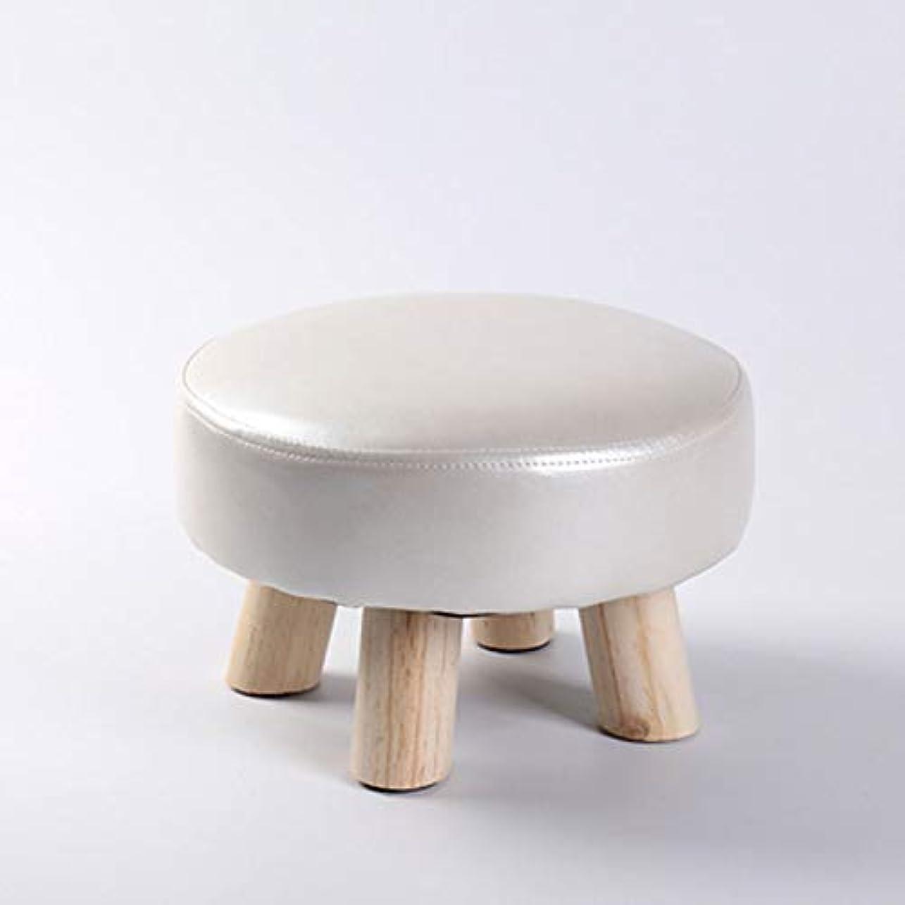永遠のポーク障害Xwyun 子供用スツール 椅子 大人用ベンチ ソリッドウッドスツール シューズスツール 踏み台 高畳ペダル 近代家庭用コーヒーテーブルスツール(29 * 20CM) (B)