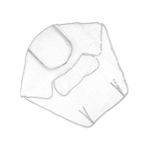IUwnHceE Cochecito de bebé Universal Cubierta de la Lluvia Impermeable Carro de bebé del Polvo del Viento Cubierta del Protector Cochecito Burbuja de Lluvia Daily Necessities duraderos