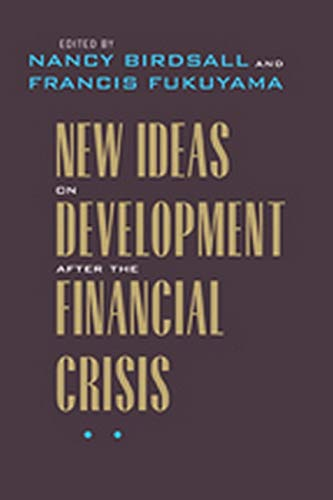 New Ideas on Development after the Financial Crisis...