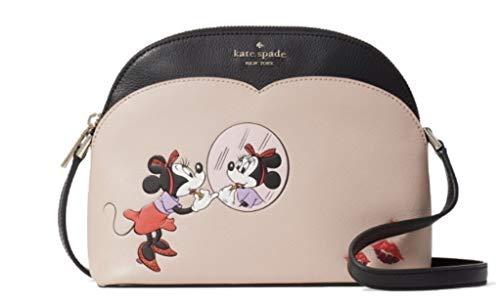 Kate Spade New York Disney X Kate Spade New York Minnie Mouse Small Dome Crossbody Black Multi One Size