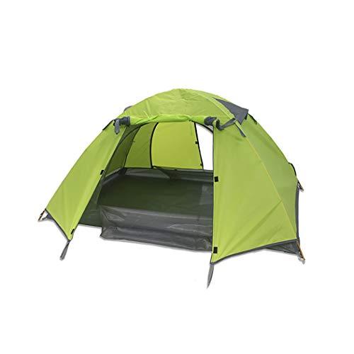 YJFFAn Tent Cross Pole Dubbele 2 Personen Camping Picknick Waterdichte Winddichte Tent Camping Waterdichte Tent