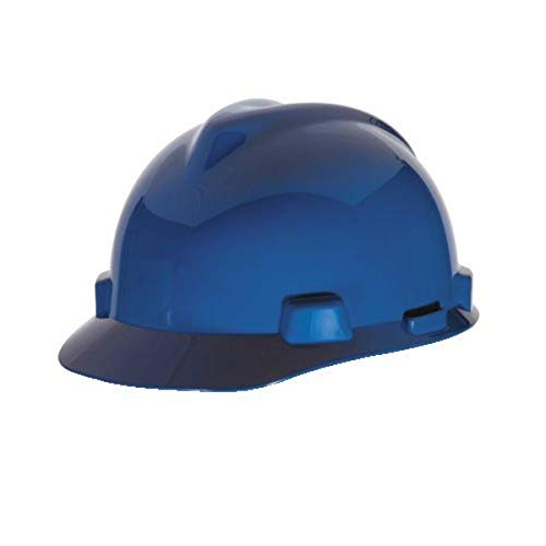 MSA 477478 V-Gard With Fas-Trac III Suspension Cap Style Hard Hat