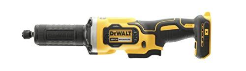 DEWALT DCG426N-XJ DCG426N-XJ-Amoladora Recta sin escobillas XR 18V Portafresas 6mm, Velocidad Variable 32.000 RPM sin Cargador/batería, 18 V