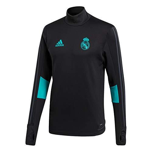 adidas TRG Top Sudadera Real Madrid, Hombre, Negro (arraer), S