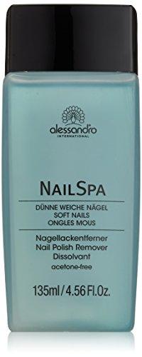 alessandro NailSpa Nagellackentferner Lavendel, 1er Pack (1 x 135 ml)