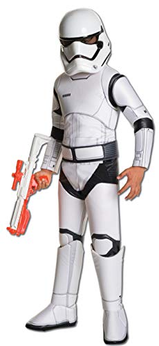 Star Wars: The Force Awakens Child's Super Deluxe Stormtrooper Costume, Large