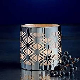 Fall Autumn Enchanted Silver Votive Candle Holder Decoration by PartyLite