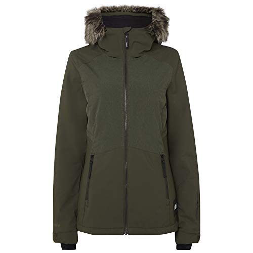 O'Neill Damen PW Halite Jackets Snow, Forest Night, M