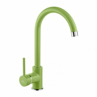 Rubinetto miscelatore da cucina colore: verde-DEANTE-Serie: Milin