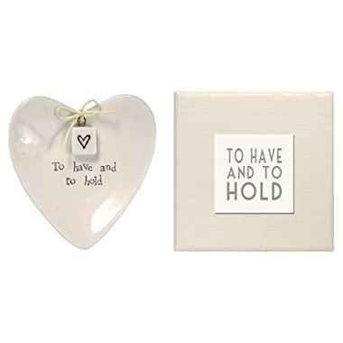 Two's Company E2069 To Have and Hold Ring Dish in Gift Box