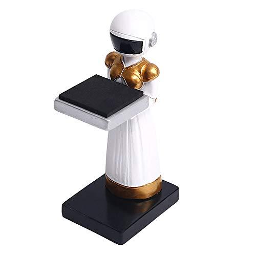 joyMerit Soporte de Reloj de Resina para Joyería, Organizador de con Forma de Astronauta, Estante de Almacenamiento - Mujer Astronauta