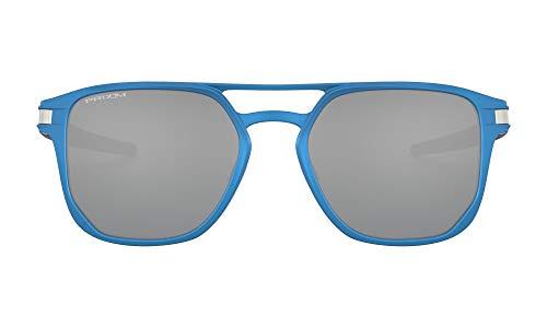 Oakley 0OO4128 Gafas de sol, Matte Sapphire Blue, 53 para Hombre