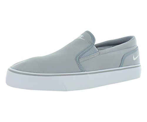 Nike Herren TOKI Slip TXT Slip On Sneaker, Grau (Wolf Grigio/Bianco 010), 42.5 EU