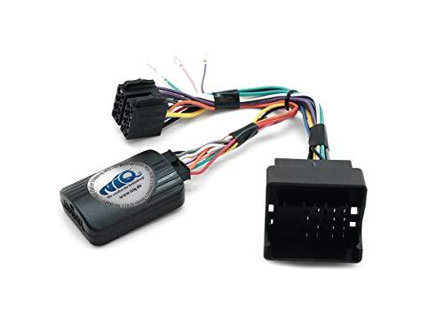 NIQ CAN-BUS Lenkradfernbedienungsadapter geeignet für PUMPKIN Autoradios, kompatibel mit VW Touareg / Multivan