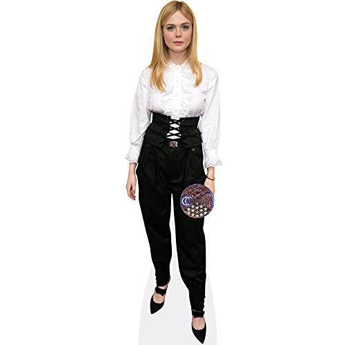 Celebrity Cutouts Elle Fanning (Black Trousers) Pappaufsteller lebensgross