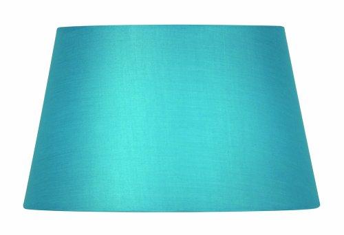 Oaks Lighting lampenkap van katoen, cilindrisch, 30,5 cm, blauw