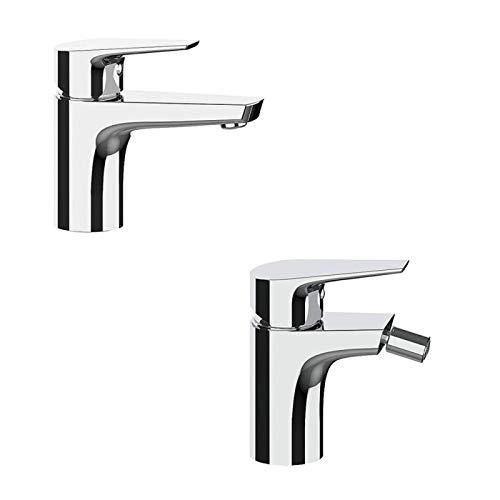 Set rubinetteria lavabo e Bidet Briotre Frattini