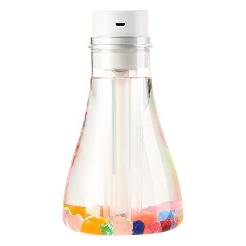 WangLx humidifiers Aroma Diffuser luchtbevochtiger wens naar flesvorm, creatieve geschenken, kleurrijke lampen, lichtgeleiders, lichtstenen voor slaapkamer, auto