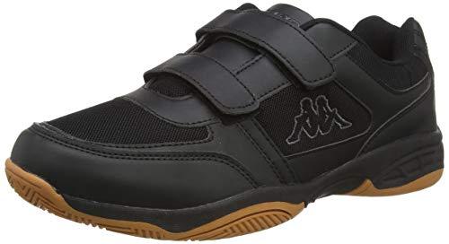 Kappa Unisex-Erwachsene DACER Sneaker, Schwarz (Black/Grey 1116), 42 EU