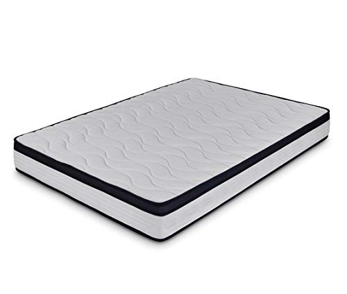 Dormidán - Colchón viscoelástico, Tejido Stretch, Cara Verano e Invierno, Medida 150 x 180 cm Visco Dream