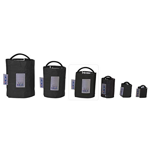 MDF® Adulto - Un tubo Manguito sin látex para presión arterial - Negro (MDF2100451-11)