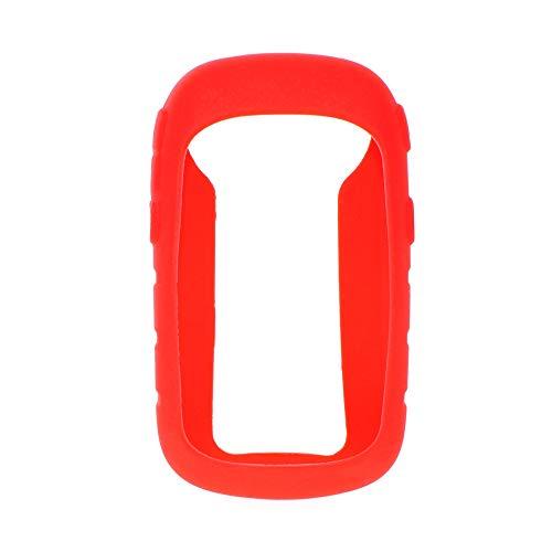 XIN DU QU Accessoires de vélo de table à code de poche en silicone antichoc pour Garmin eTrex 10/20/30/1010/20X/30x(Noir), Rouge