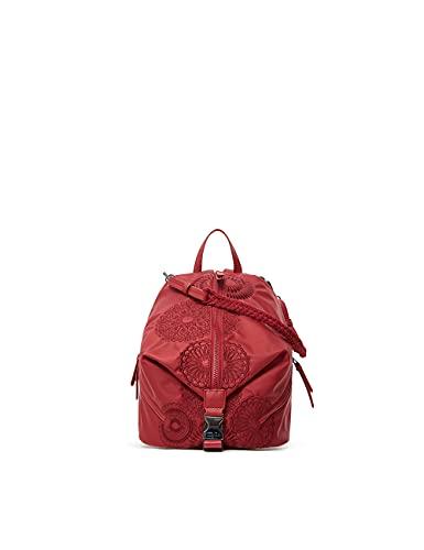Desigual Womens Back_MANDARALA Viana Backpack, Red, One Size