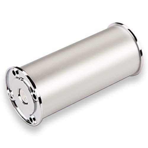 4er Set Möbelfuß Aluminium Fuß Ø 50 mm Höhen: 50/60 / 70/100 / 120/150 / 170/180 / 200/400 mm jeweils höhenverstellbar von SO-TECH